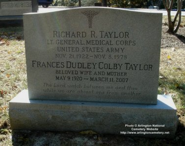 Richard Ray Taylor, Lieutenant General, United States Army
