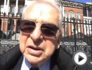 Dr. Lester Grinspoon After Testifying at MA State House on