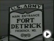 Ft. Detrick Biological Warfare Program 1950s Maryland US Army